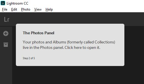 Collections are now called Photos and Albums