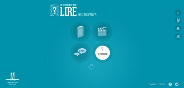2013-10-02 12_36_03-Mediathèque de Lorient - Je ne sais pas quoi lire