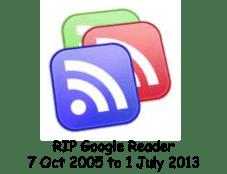 RIP Google Reader