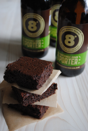 Eight Degrees Brewing: Knockmealdown Porter Brownies