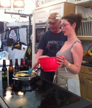 Theatre of Food - Liss Ard Festival - Beer and Brownies