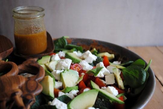 Bibliocook.com - Broccoli, Tomato and Avocado Salad
