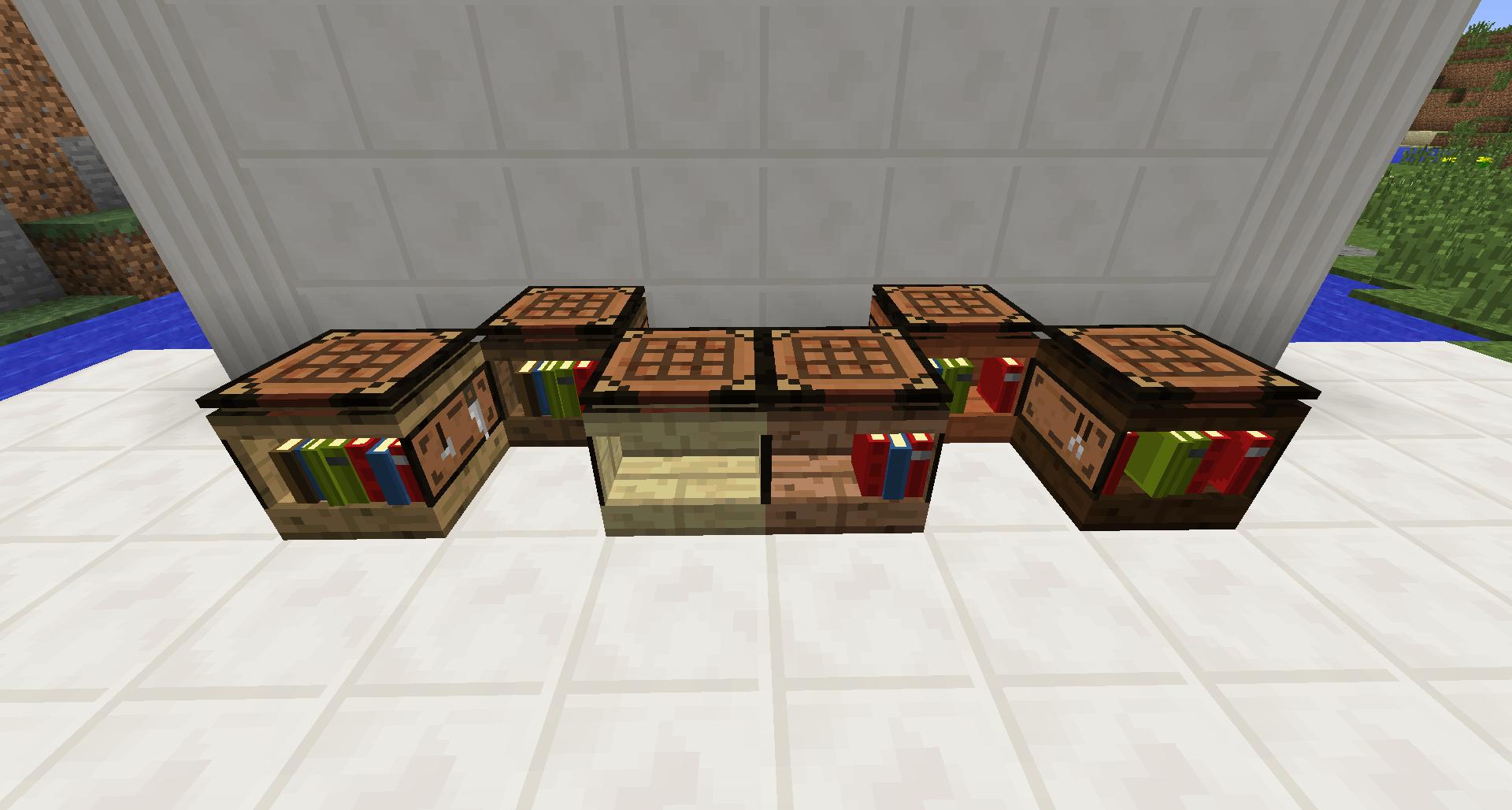 Fancy Workbench Bibliocraft