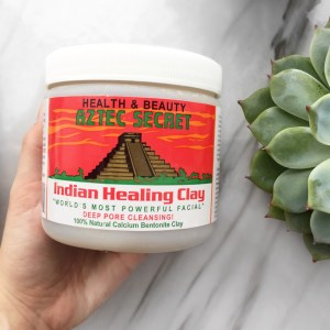 Deep Pore Cleansing Mask Indian  Healing Clay de Aztec Secret
