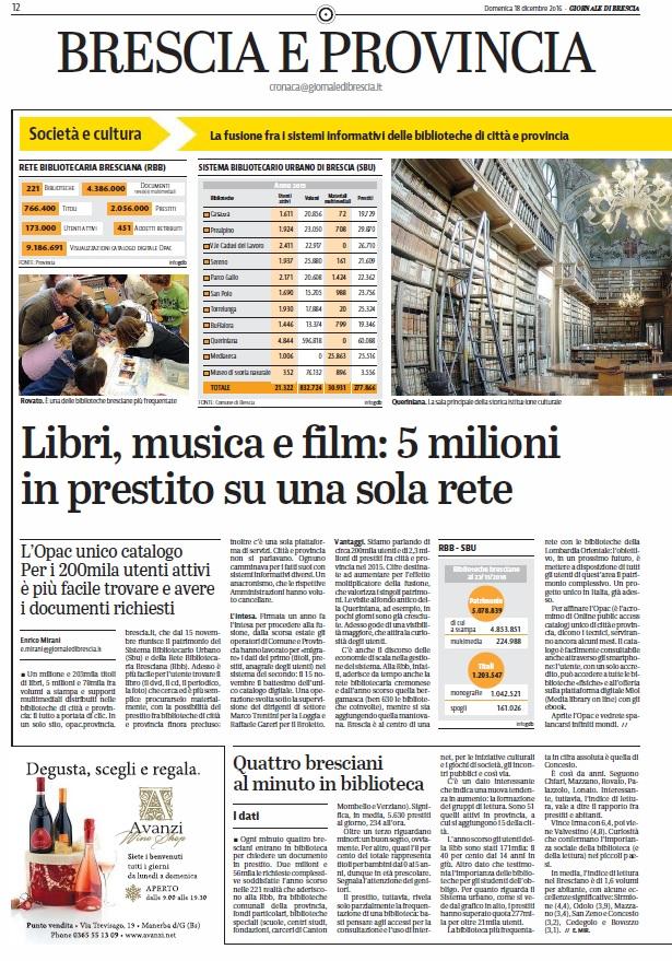 Libri, musica e film: 5 milioni in prestito su una sola rete
