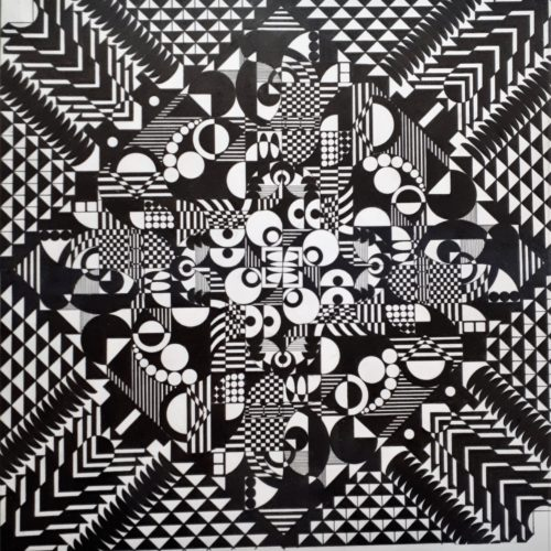 G.Grasso, Composizione 5 - 2010 33x48 cm
