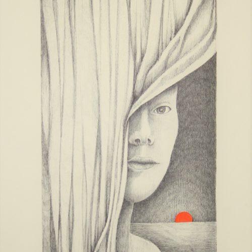 G.Zinelli, Melanconia - 2015 30,5x40,5 cm