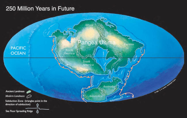 Earth 300 Million Years Now