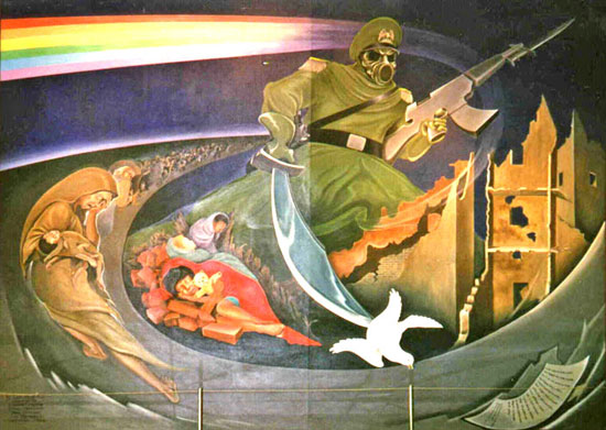 Image result for denver airport art