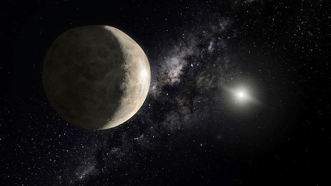 Planet Two Moons Dwarf