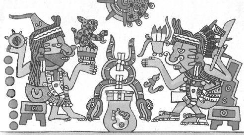 Códice Borgia Plate 57