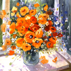 Wernisaż wystawy malarstwa Barbary Wojtanowskiej