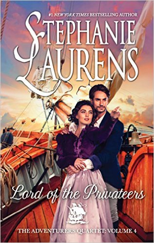 Review: Lord of the Privateers, by Stephanie Laurens – with Giveaway
