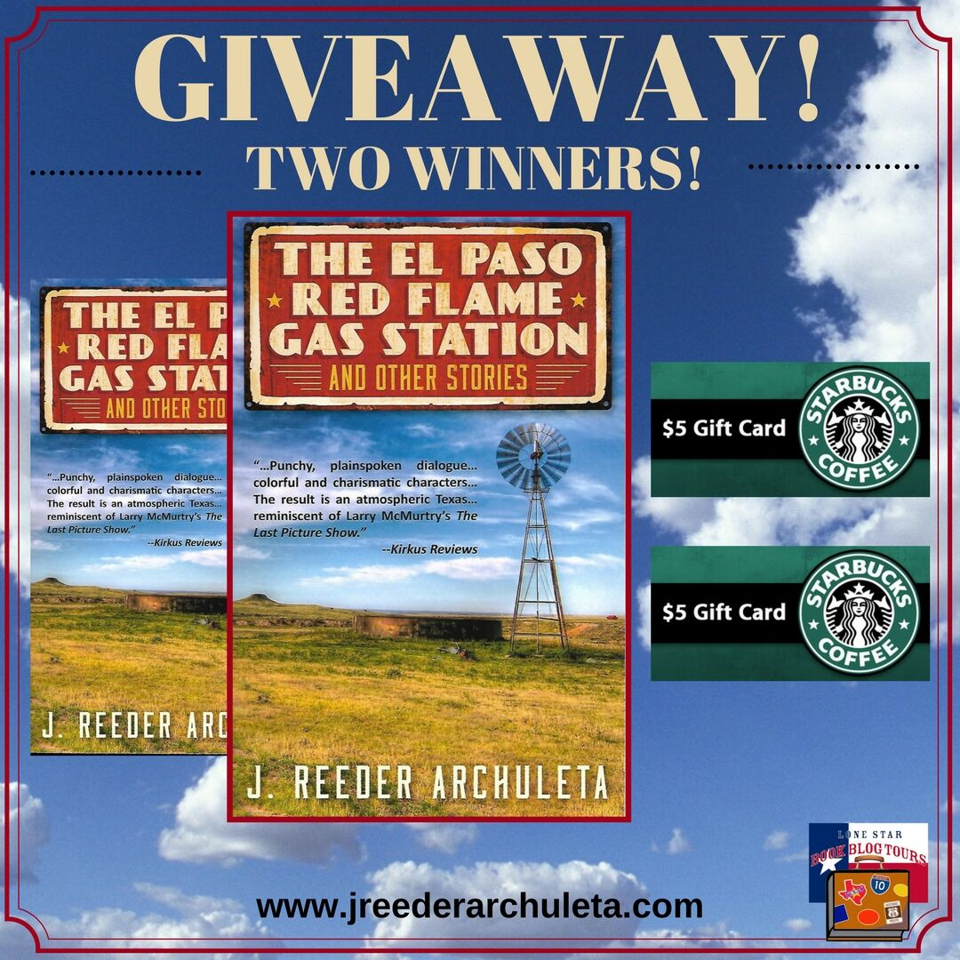 Review: The El Paso Red Flame Gas Station and Other Stories, by J. Reeder Archuleta – with Giveaway