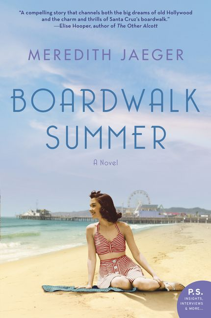 Review: Boardwalk Summer by Meredith Jaeger