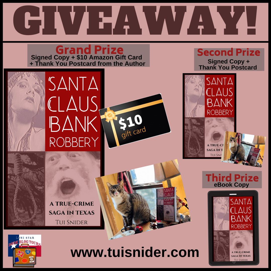 Review: Santa Claus Bank  Robbery by Tui Snider – with Giveaway
