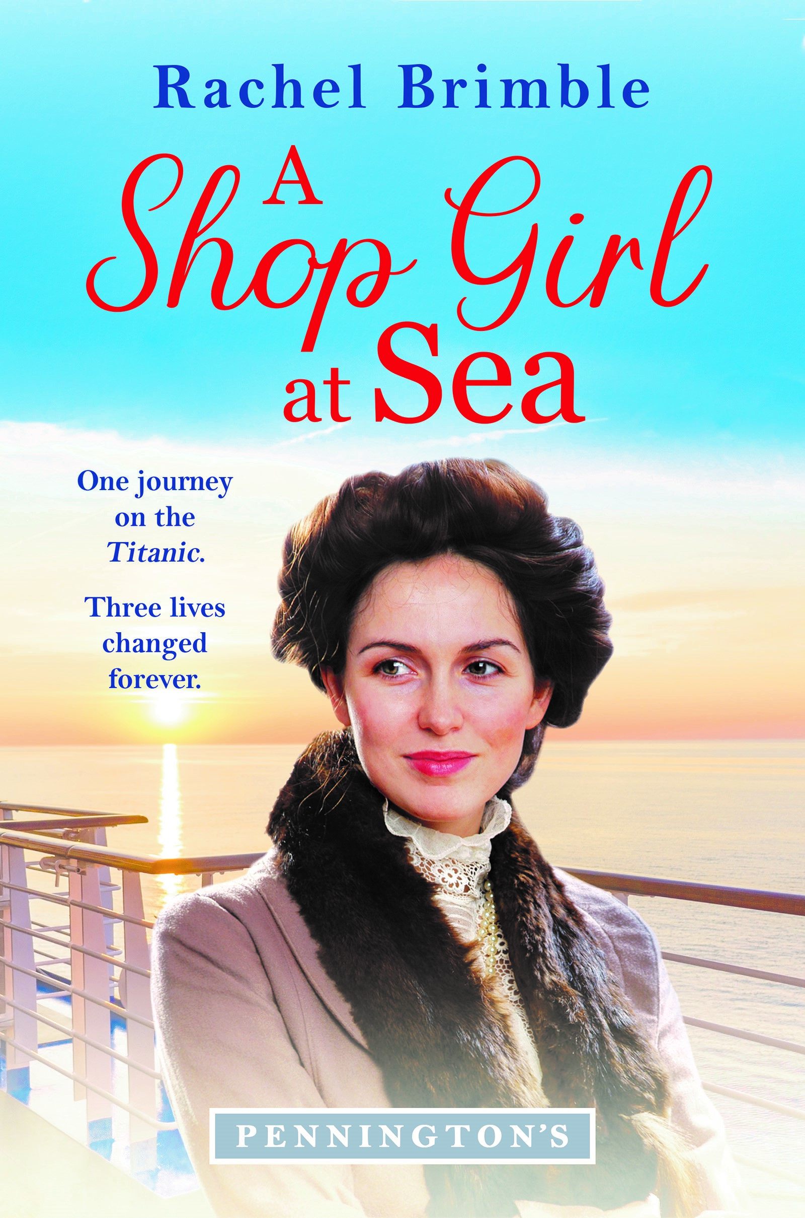 Review: A Shop Girl at Sea by Rachel Brimble