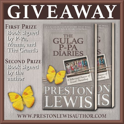 Review: The Gulag P-Pa Diaries, by Preston Lewis, with Giveaway