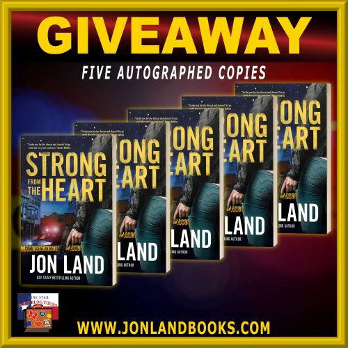 Review: Strong from the Heart, by Jon Land – with Giveaway