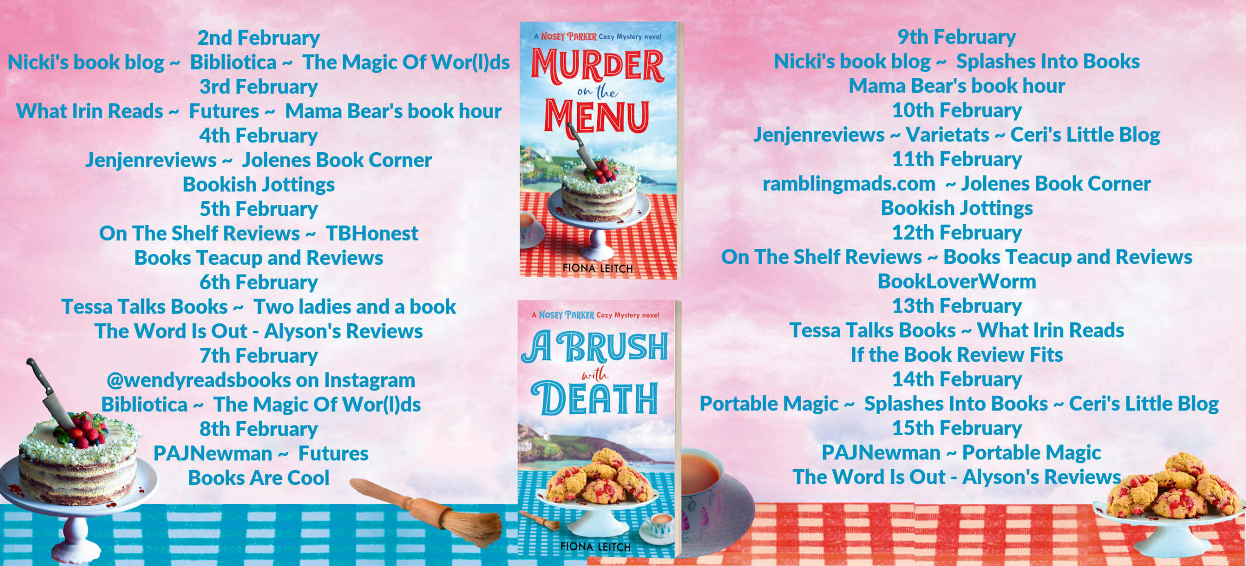 Review: A Brush with Death, by Fiona Leitch