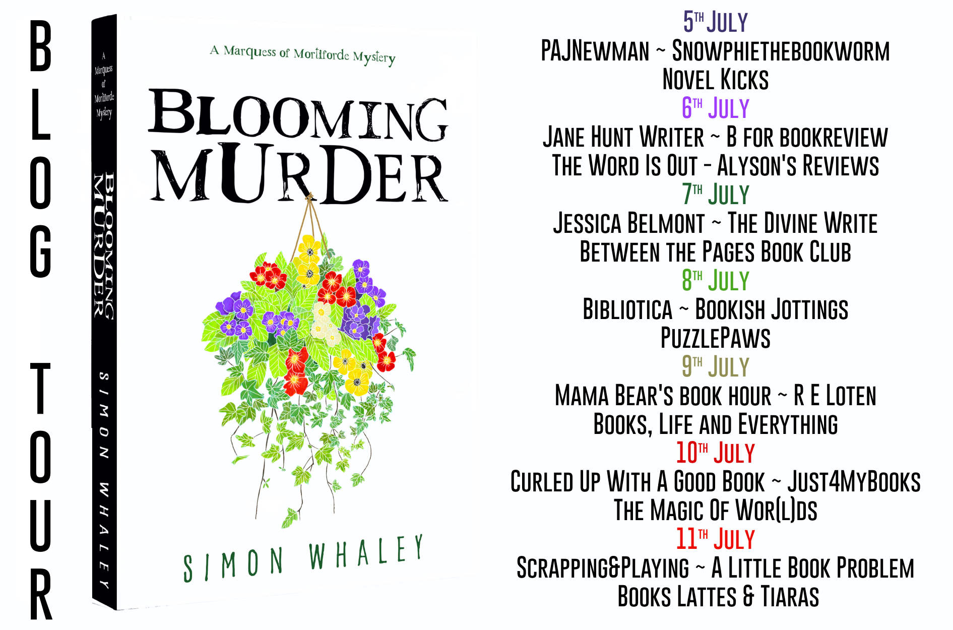 Review: Blooming Murder by Simon Whaley