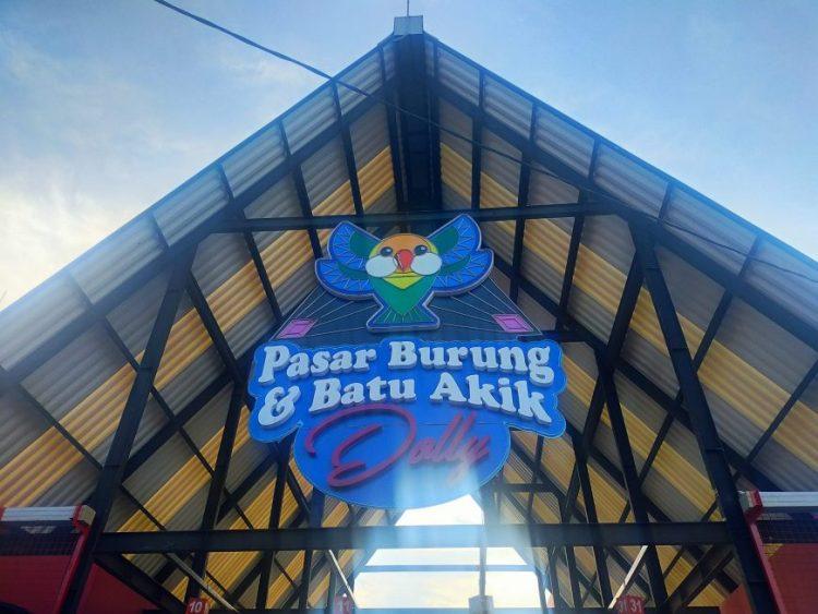 Sentra Pasar Burung dan Batu Akik Dolly /Foto: Bicara Surabaya