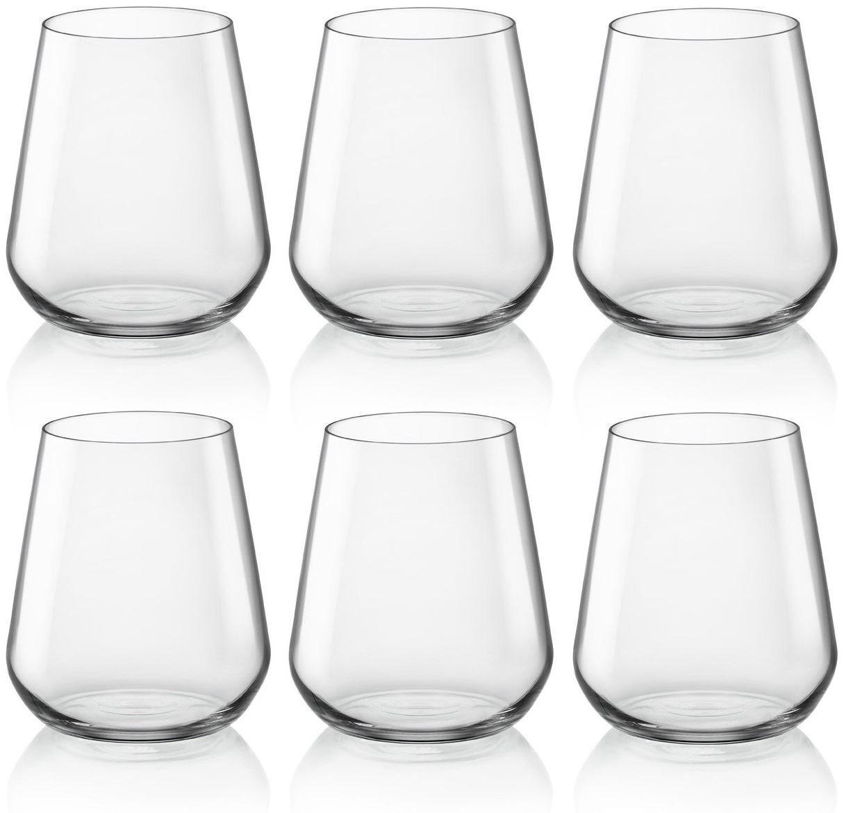 6 unit/à Bormioli Rocco /& Figlio Line Bicchiere per Acqua 29 cl