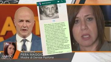 """Denise Pipitone, Piera Maggio furiosa scrive a Gianluigi Nuzzi, il messaggio inviato su Whatsapp: """"Vergognatevi, squallore"""""""