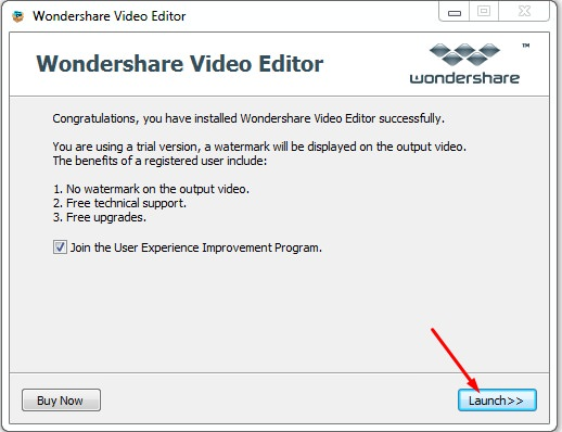 wondershare video editor serial key and email Pic 5