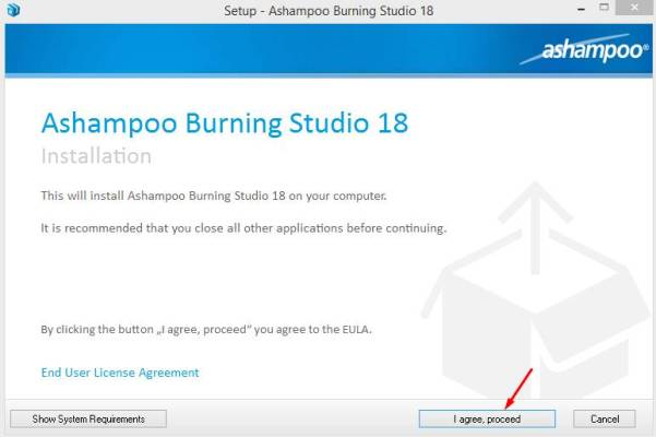 ashampoo burning studio key Pic 1