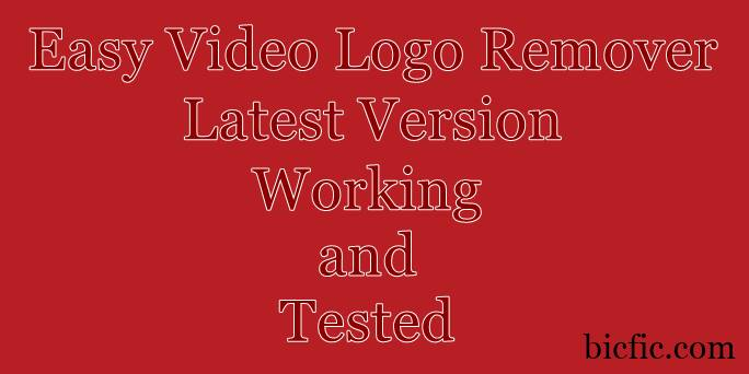easy video logo remover crack