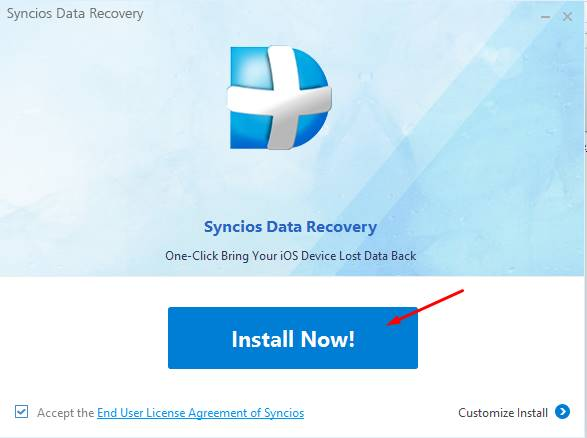syncios data recovery registration code pic 1