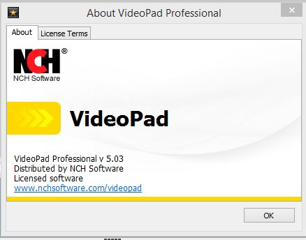 videopad video editor registration code Pic 2
