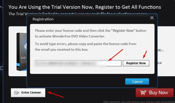 wonderfox dvd video converter license code pic 3