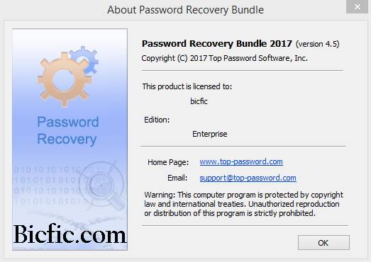 Password Recovery Bundle 2018 Enterprise 4 6 Crack is Here
