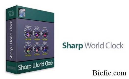 sharp world clock crack
