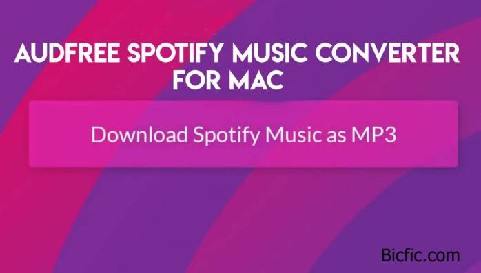 Audfree Spotify Music Converter for Mac