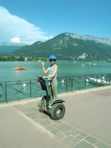 Segway Annecy Mobilboard biche around the world