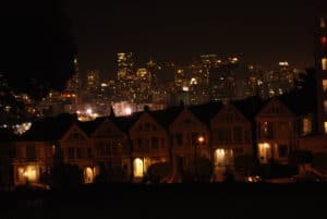San Fransisco by night