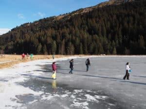 Méribel lac
