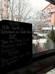 chamonix restaurant l'atmosphère
