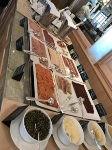 Beatus wellness & spa breakfast