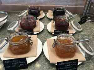 Beatus wellness & spa breakfast