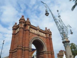 Barcelone arc de triomphe