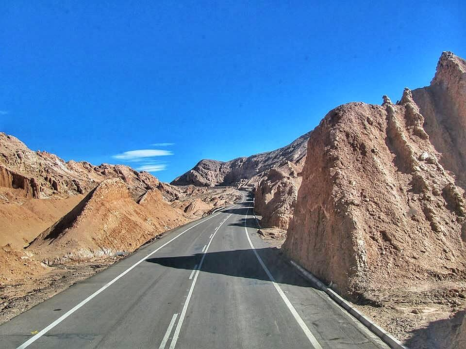Camino de Calama a San Pedro de Atacama - Bichito viajero