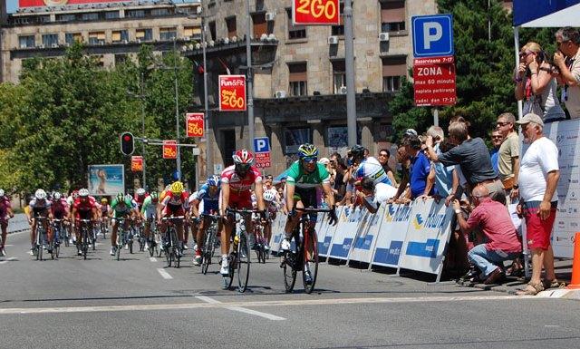 Tour de Serbie 2012 stage 6 Sremska Mitrovica-Beograd 78km