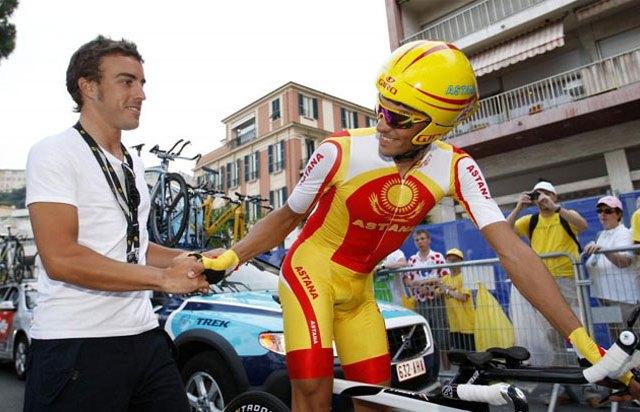 F1 Fernando Alonso preuzima Euskaltel