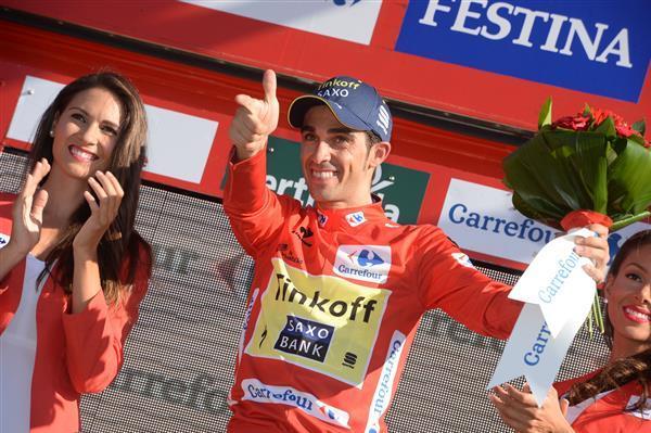 Vuelta'14 E10 Borja (ITT)