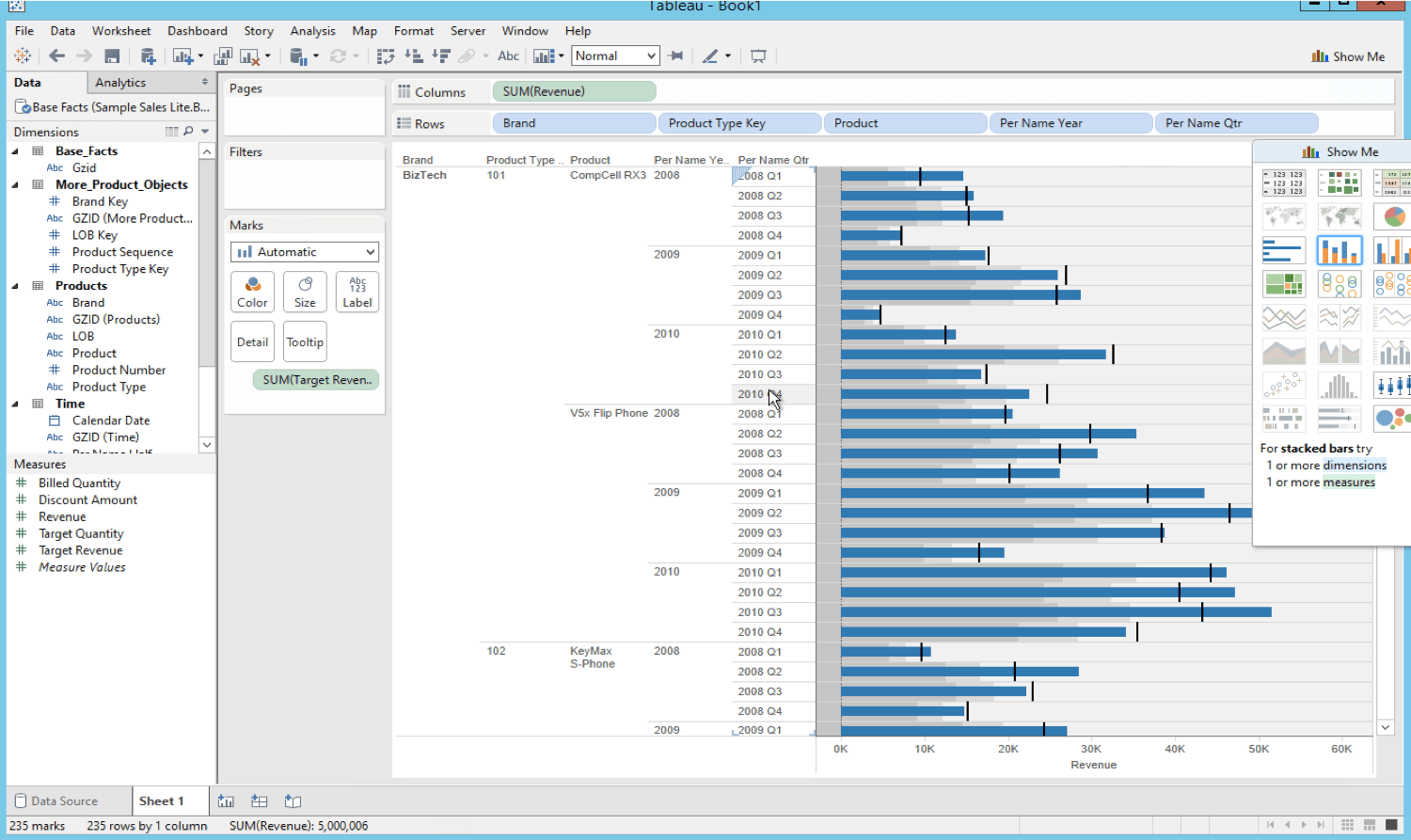 Extract Obiee Data Using Tableau Desktop