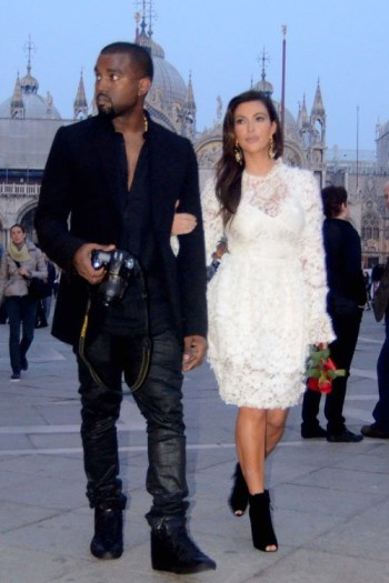 Kanye West and Kim Kardashian [Image: https://www.flickr.com/photos/myalexis]
